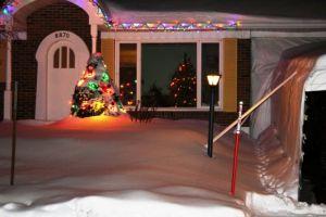 Christmas time, Quebec
